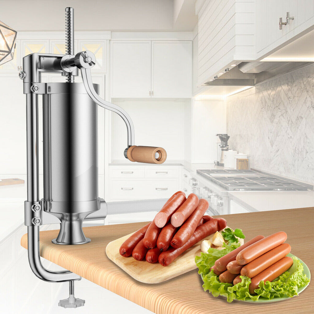 Stainless Steel Vertical Sausage Stuffer 3L