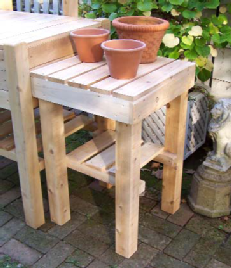 Kitchen Garden Side Table