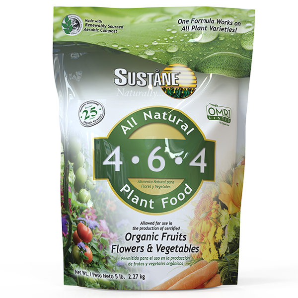 Sustane- Organic Fruits, Flower and Vegetable Fertilizer