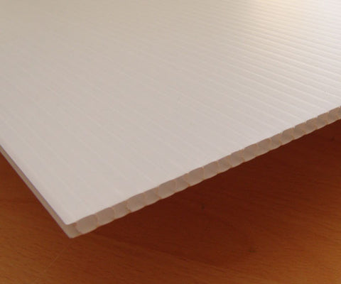 Corflute 1830mmx1220mm White Floor Protection x 25 sheets