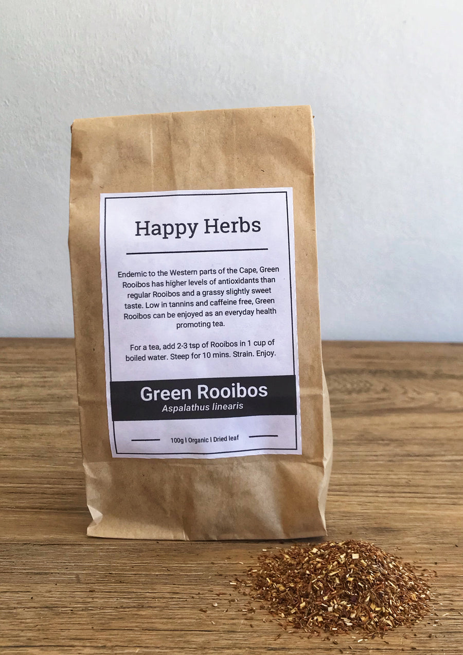 Green Rooibos Dried - Happy Herbs
