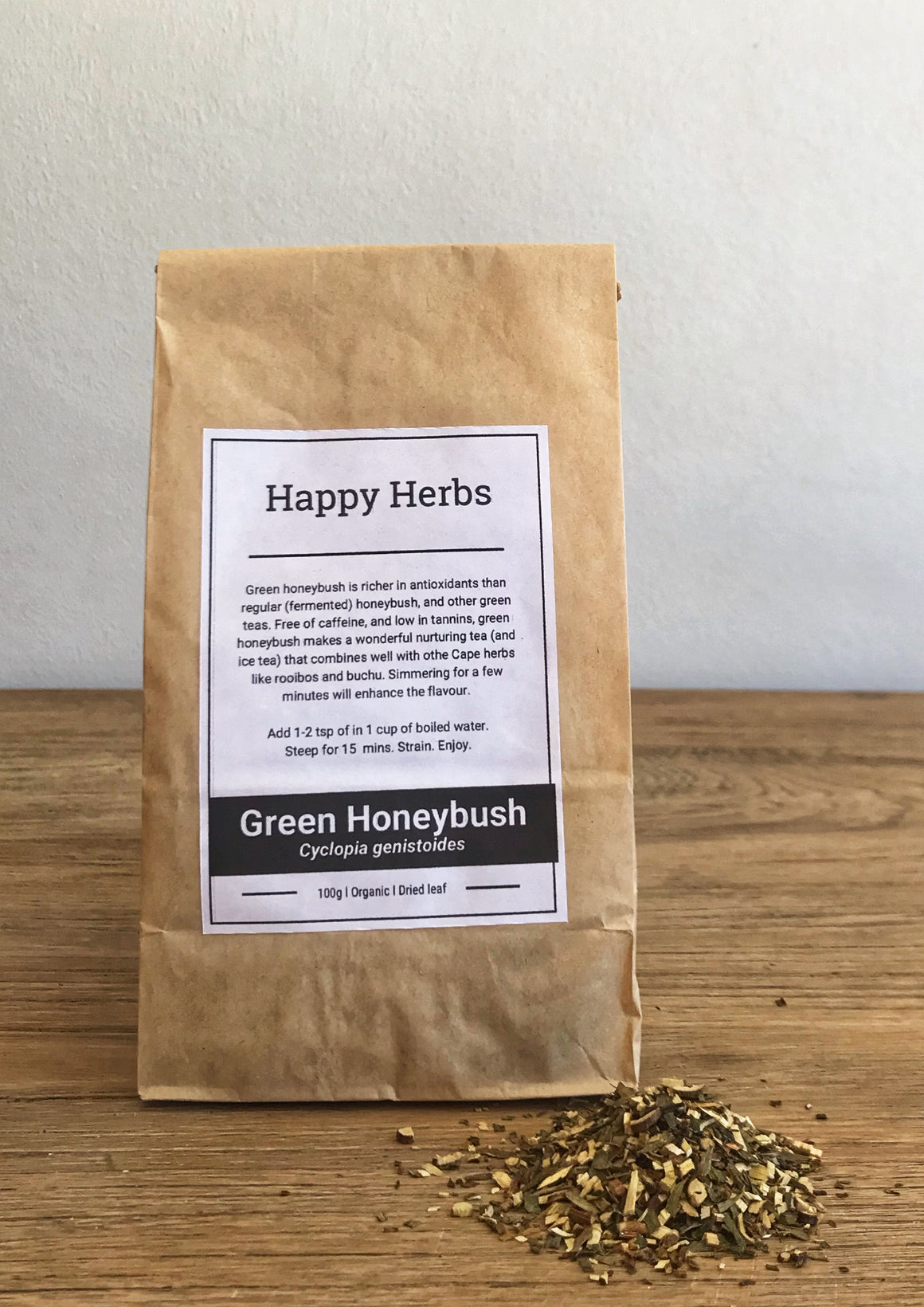 Green Honeybush Dried - Happy Herbs