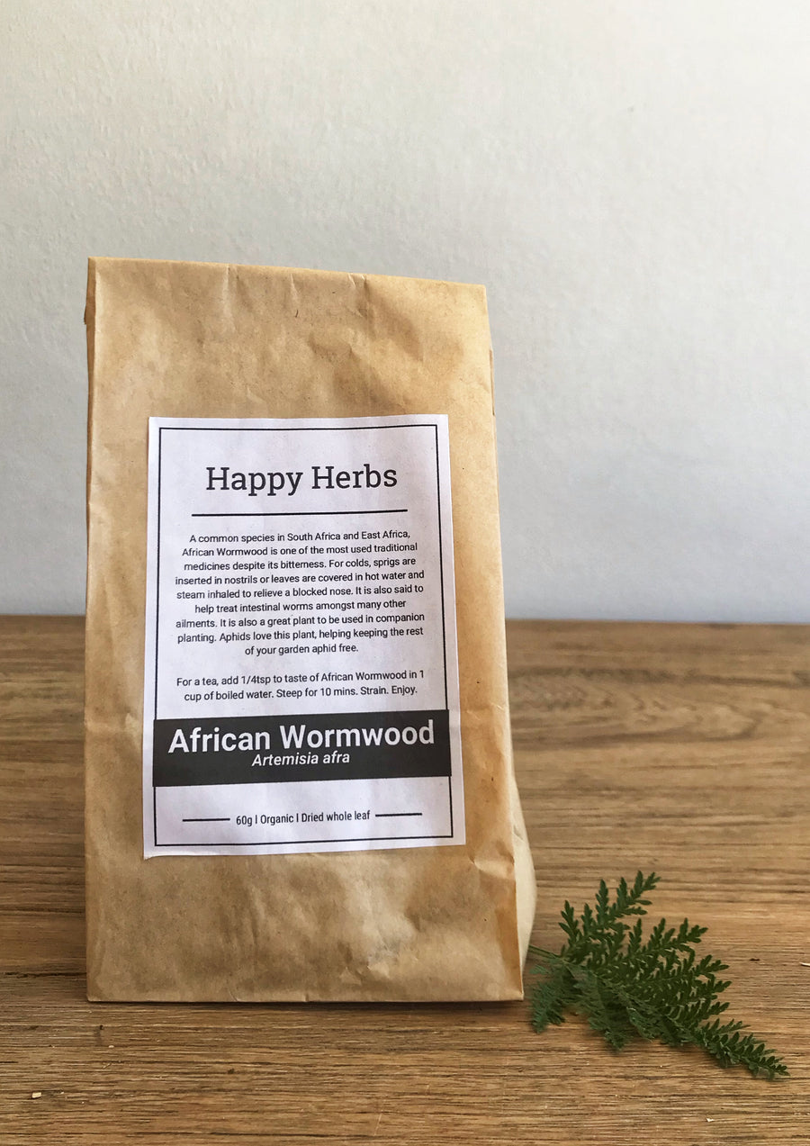 African Wormwood Dried - Happy Herbs
