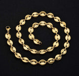 11mm Gucci Chain 18k Necklaces