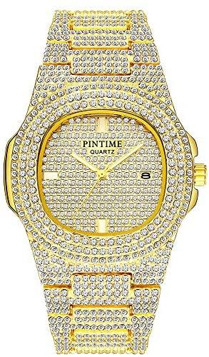 Bling Crystal Watch - Unisex - Gold Nation Store