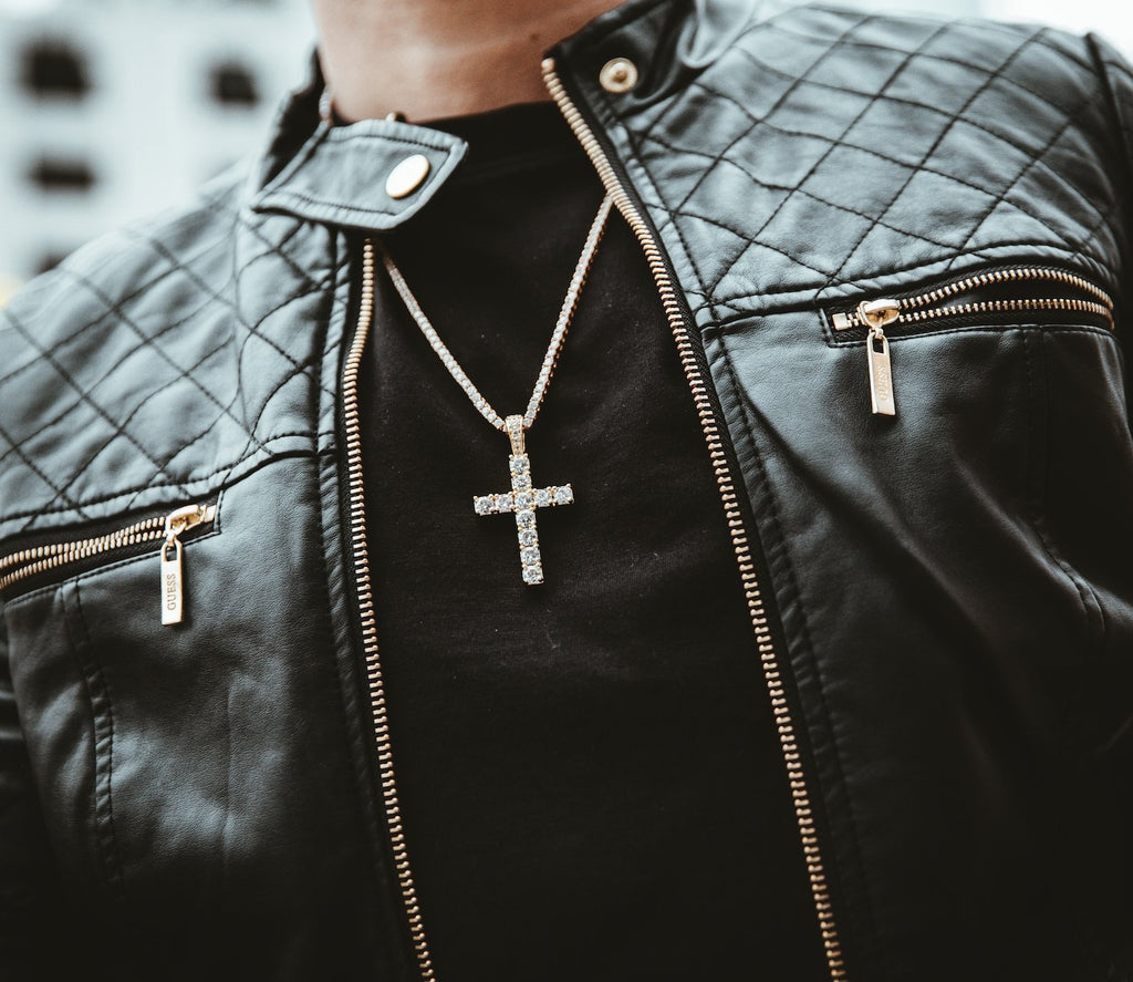 Diamond Cross Pendants - Gold Nation Store