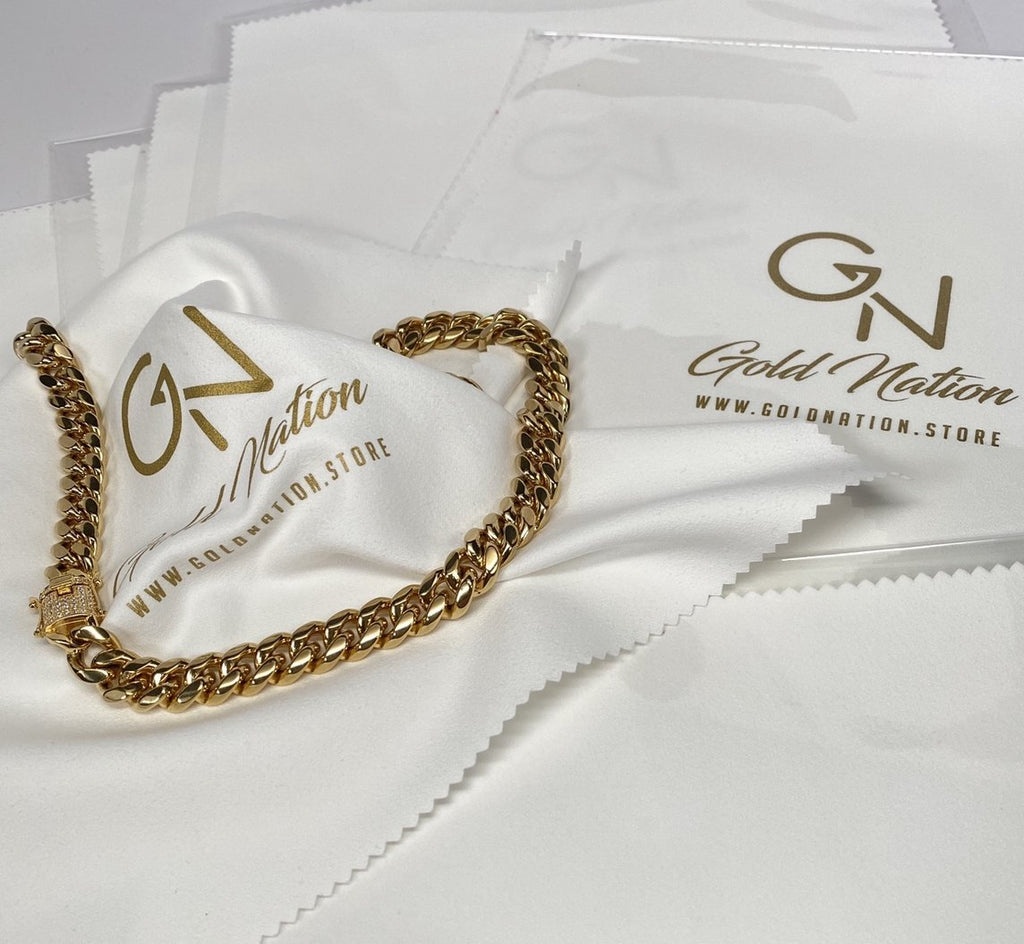 GN Ultimate Polishing Cloth For Jewelry Cleaning & Care - Gold Nation Store