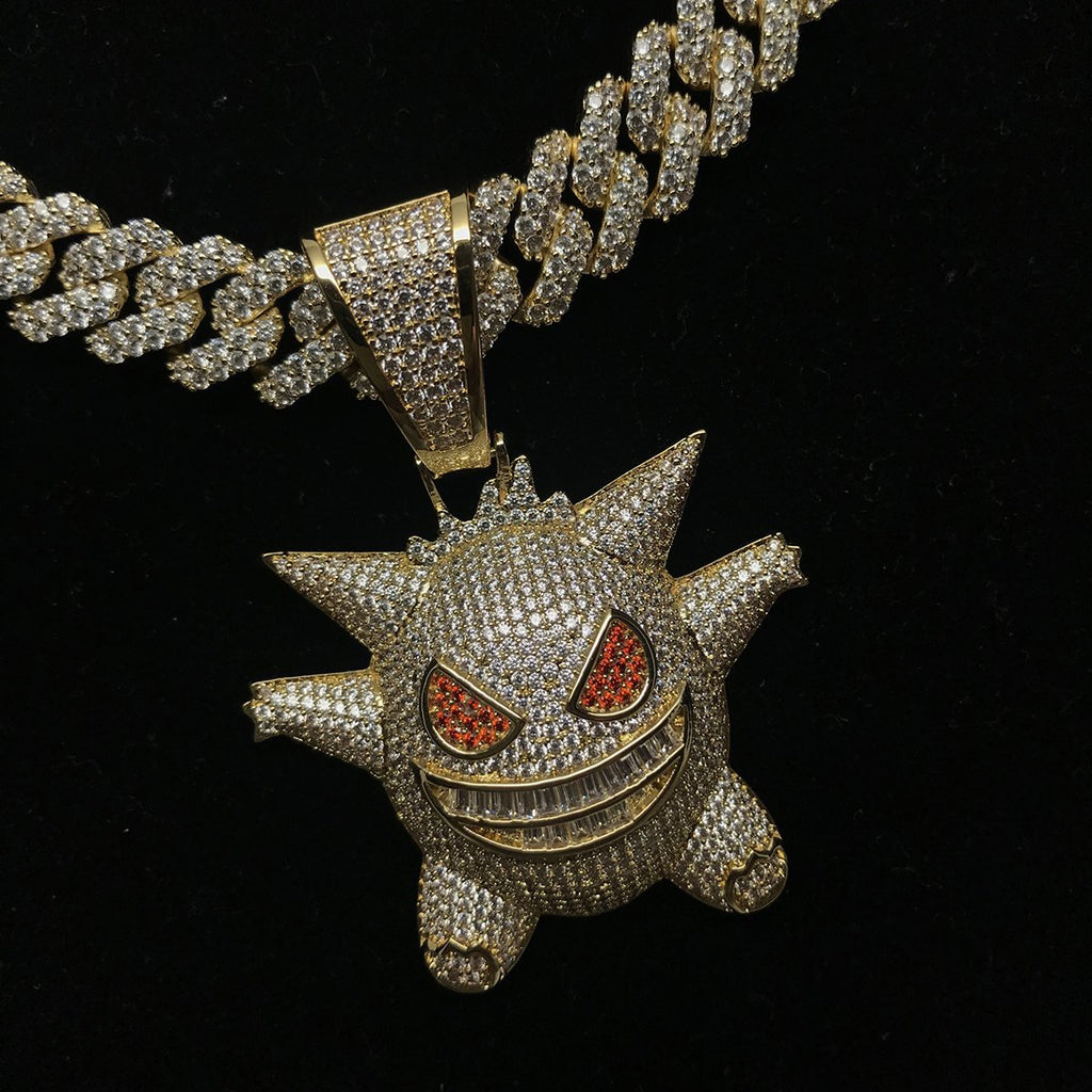 Hunter/Gengar Pokemon Pendant - Gold Nation Store