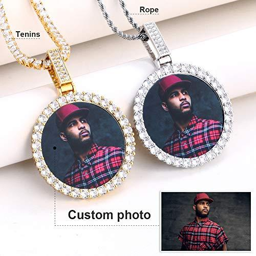 Personalized Photo Necklace (21 Models) - Gold Nation Store