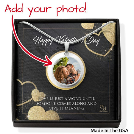 Photo Circle Pendants (Upload your photo) - Gold Nation Store