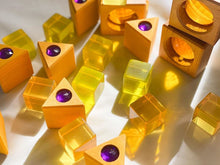 Load image into Gallery viewer, Bauspiel lucite cubes - 10 pieces