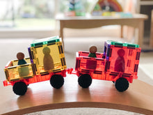 Load image into Gallery viewer, PRE-ORDER: Connetix magnetic building tiles - 24 piece car set