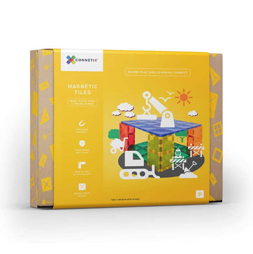 Connetix magnetic tiles - 2 piece base plate set