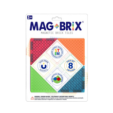 Load image into Gallery viewer, MAGBRIX® magnetic brick tiles - 8 pieces