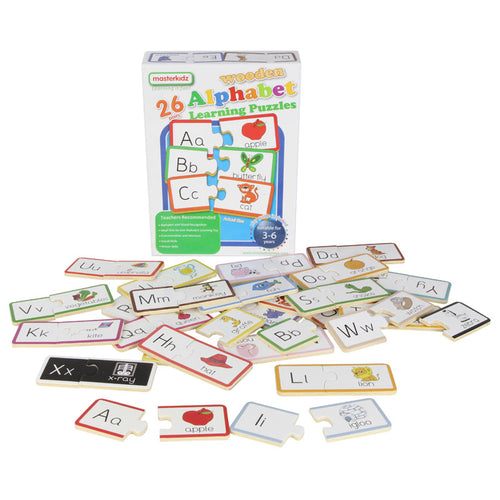 Wooden learning puzzles - alphabet