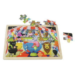 Wooden jigsaw puzzle - circus