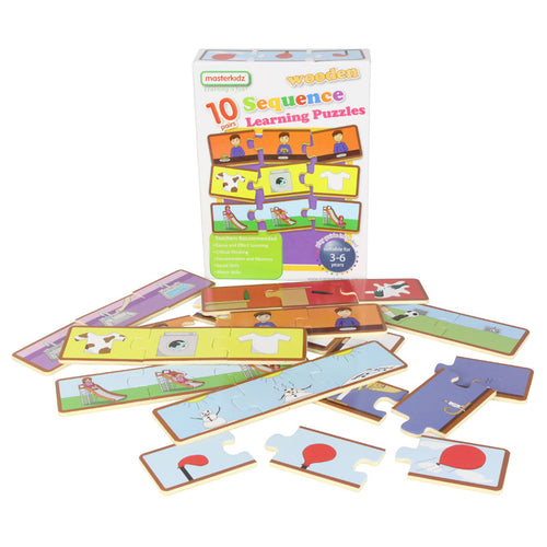 Wooden learning puzzles - sequence
