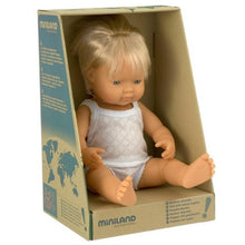 Load image into Gallery viewer, Miniland Caucasian boy doll