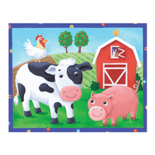 Load image into Gallery viewer, Pouch puzzle - on the farm