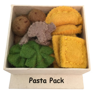 Felt pasta set in box