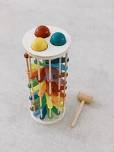 Load image into Gallery viewer, Wooden pound a ball tower