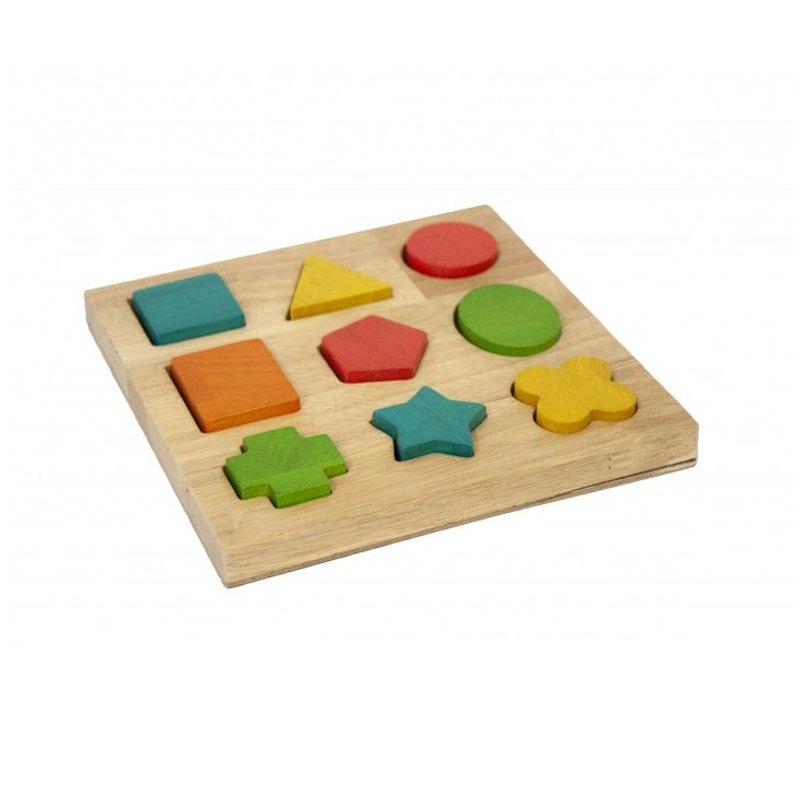 Wooden shape puzzle