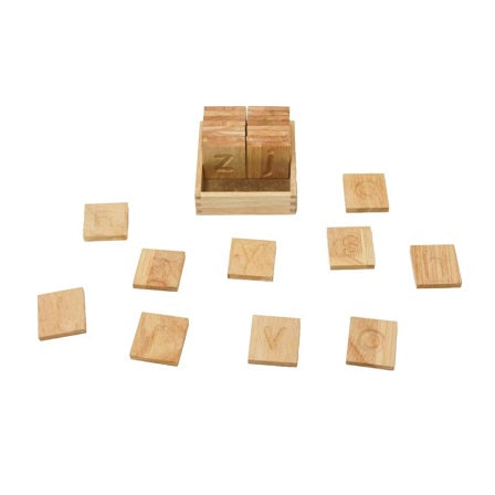 Wooden spelling and writing boards