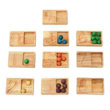 Load image into Gallery viewer, Wooden balls - set of 50