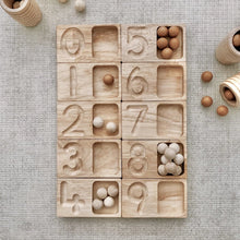 Load image into Gallery viewer, Wooden balls - natural - set of 50