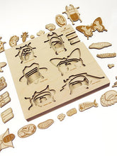 Load image into Gallery viewer, Stuka Puka a bug's life wooden puzzle