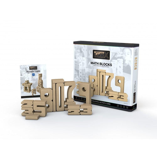 SumBlox Building Blocks Home Set - 47 Pieces