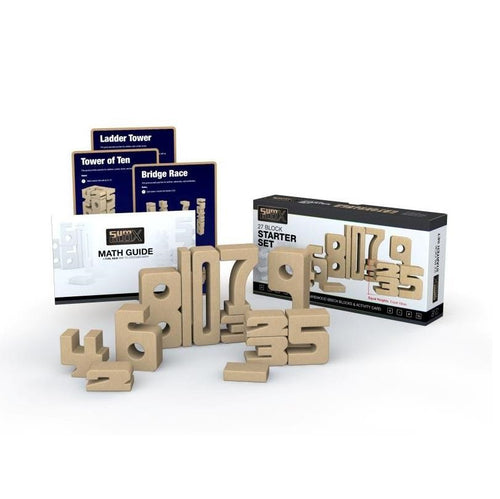 SumBlox Building Blocks Starter Set - 27 Pieces