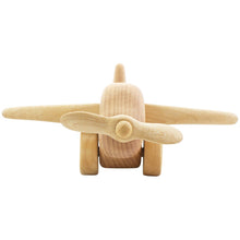 Load image into Gallery viewer, Wooden airplane