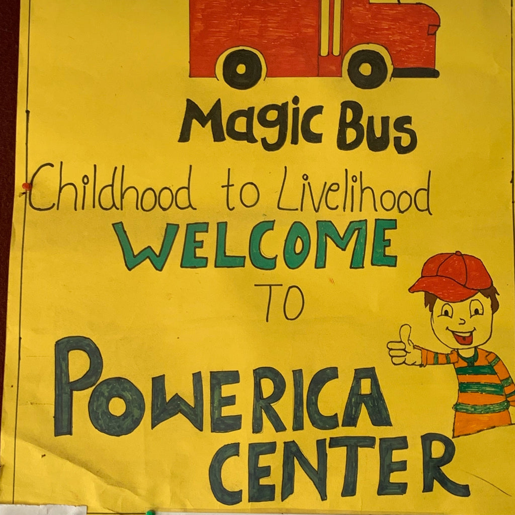 What I'm Doing with the Magic Bus Charity to End Child Poverty