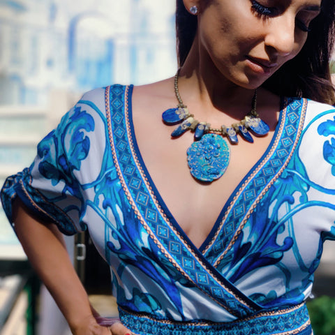 Amita Bhalla Matching her Jewelry to style