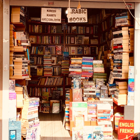 Book shop in Istanbul