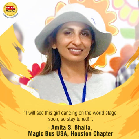 Amita Bhalla, Magic Bus USA, Houston Chapter