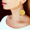 Golden Aura Earrings