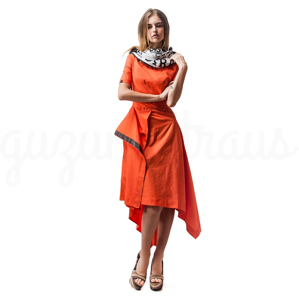 #Citrus Dress by GUZUNDSTRAUS