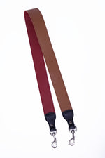 STRAPS - RED AND BROWN