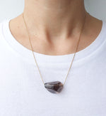 Smoky Quartz Nugget Necklace