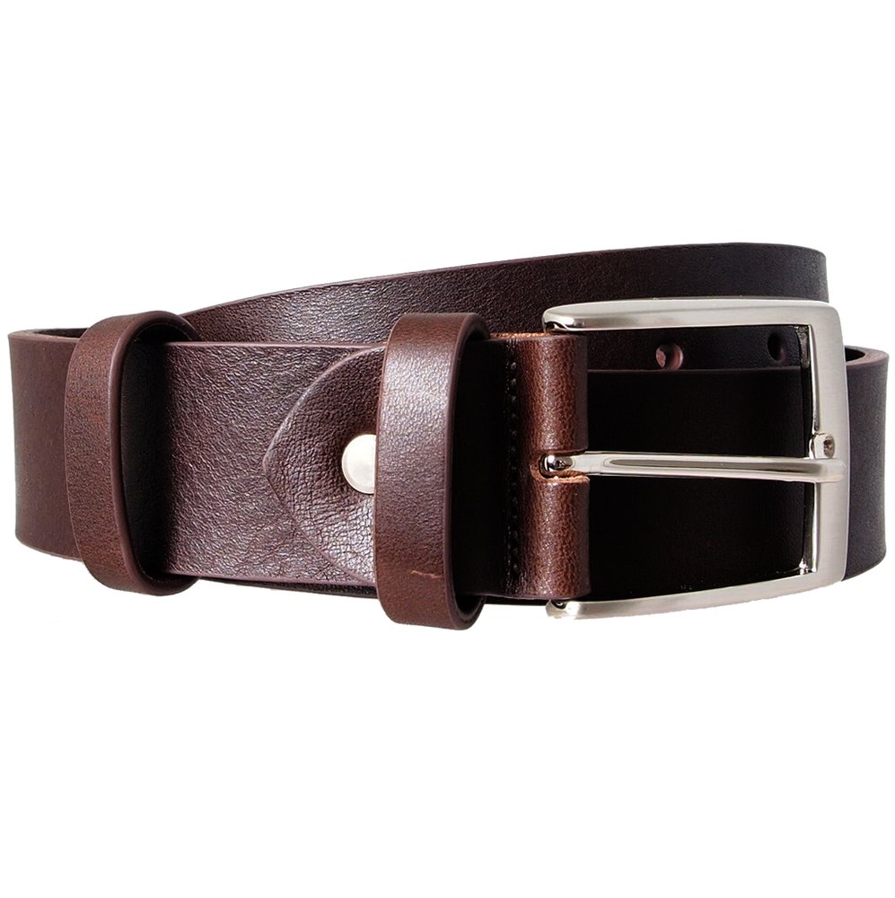 40mm Bridle Leather Belt Brown