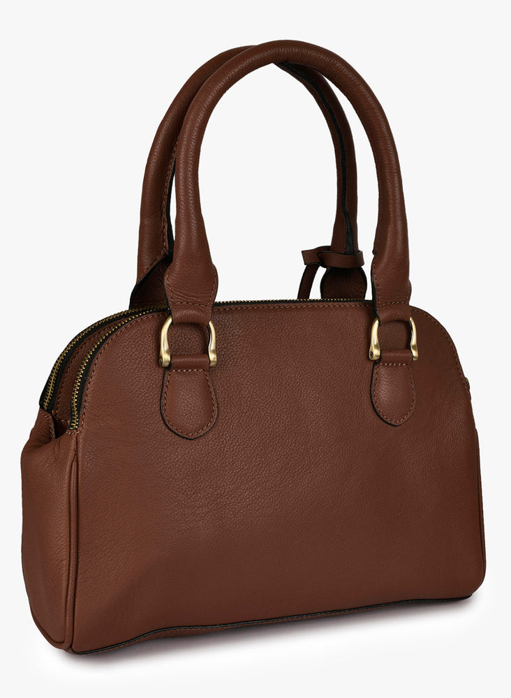 Phive Rivers Women's Leather HandBag (Tan_PR547)