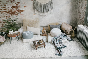 How to make a home meditation space