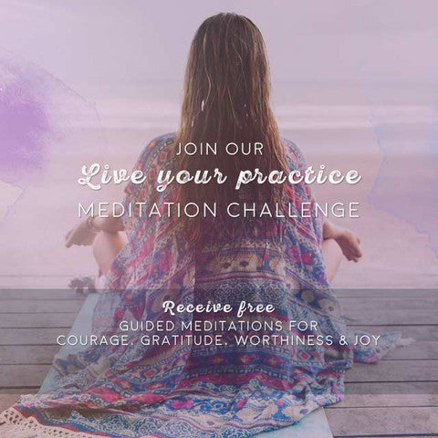 Join our Live Your Practice Meditation Challenge!
