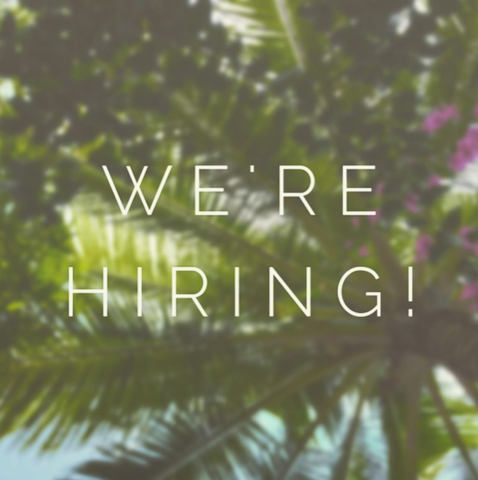 Work with us! We're hiring TWO Sales Positions