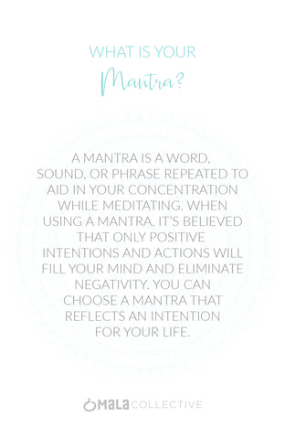 What's Your Mantra