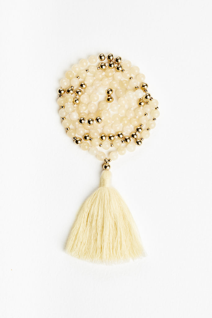 Honey Jade Mala