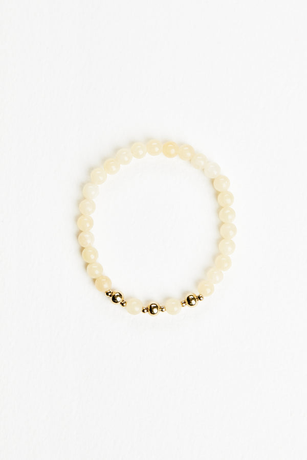 Honey Jade Bracelet