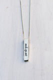 Krishna Sanskrit Mantra Necklace